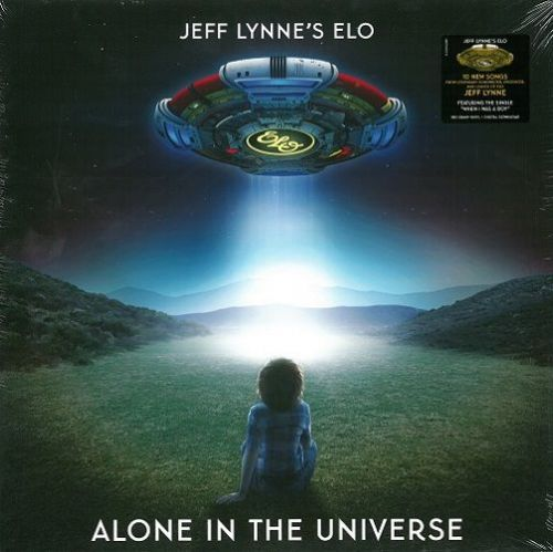 JEFF LYNNE'S ELO (ELECTRIC LIGHT ORCHESTRA) Alone In The Universe Vinyl Record LP Columbia 2015